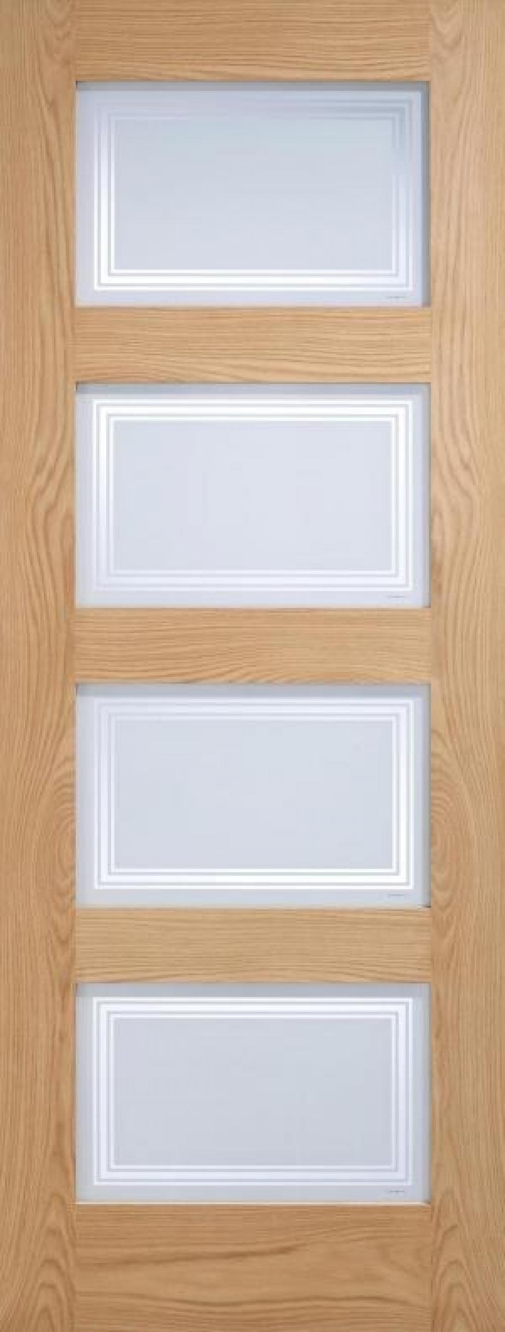 Oak 4l Silkscreen Glazed  Image