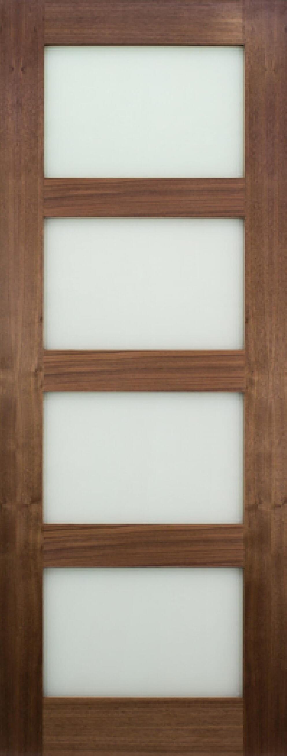Coventry Walnut Glazed - Frosted Prefinished Image