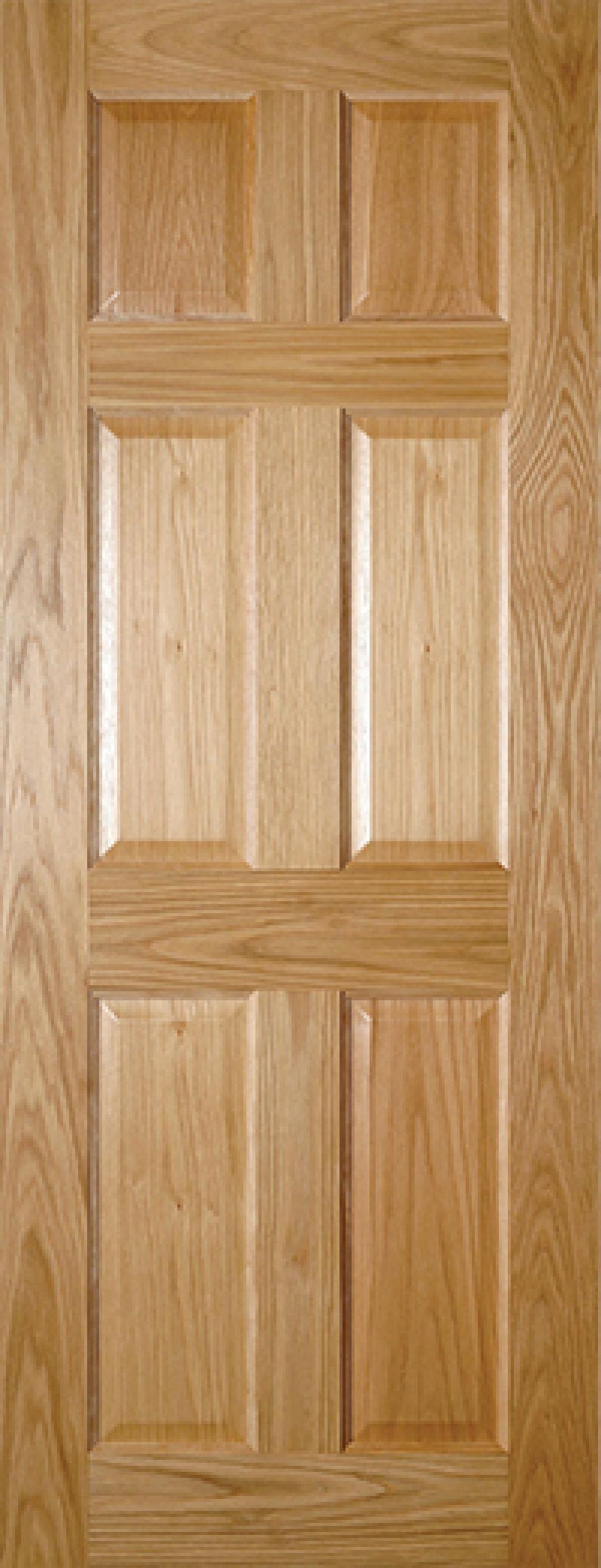 Oxford 6 Panel Oak - Prefinished Image