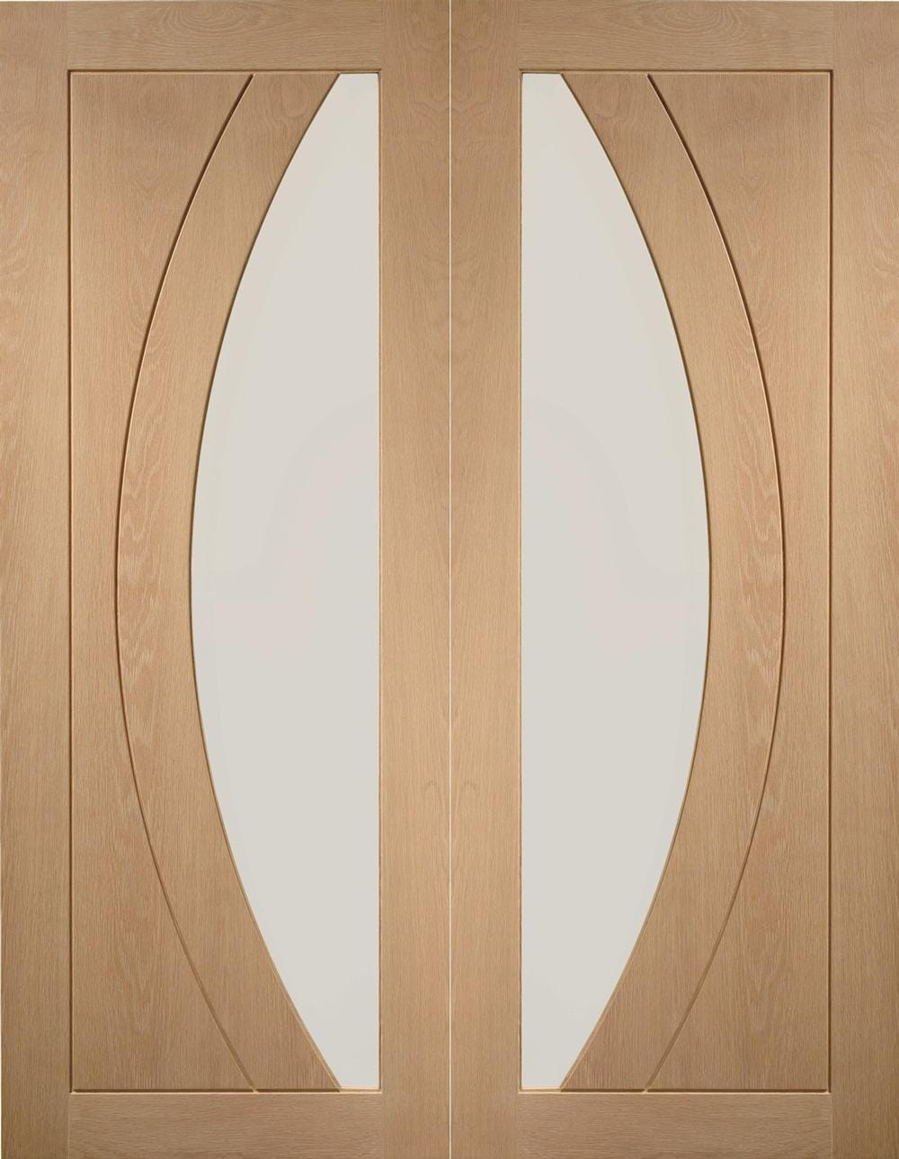 Salerno Oak Pair - Clear Glazed  Image