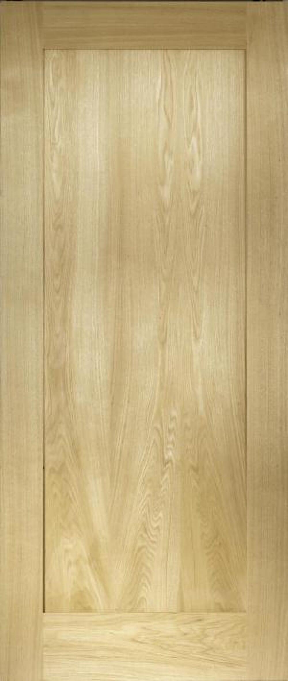 Oak Shaker 1 Panel - Prefinished Image