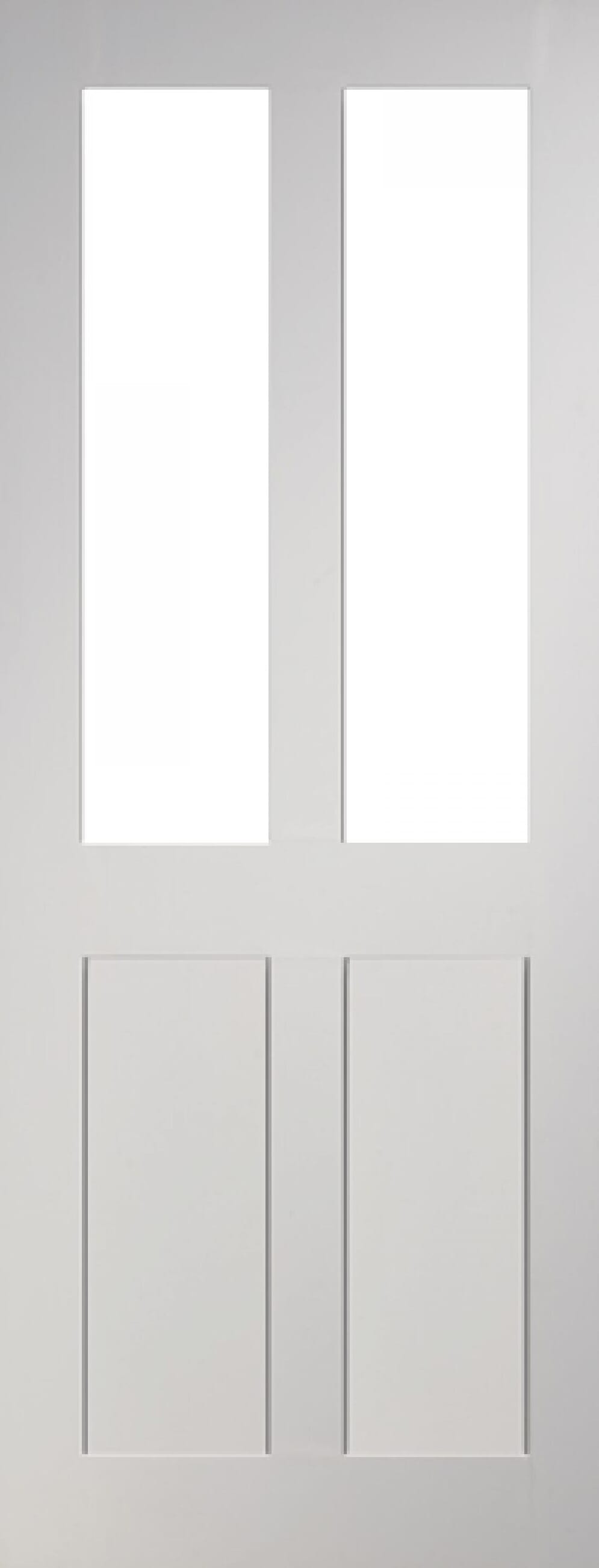 Eton Glazed 4 Panel White Image