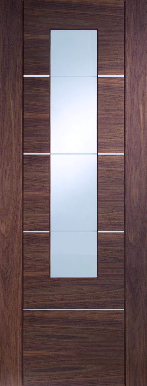 Portici Walnut - Prefinished Clear Glazed Image