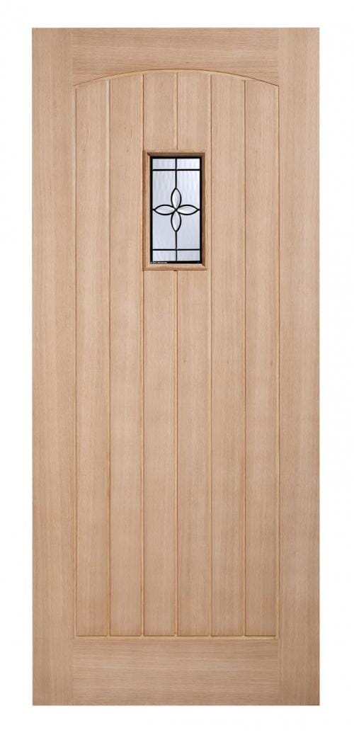Chesham Oak Part L Warmer Door Image