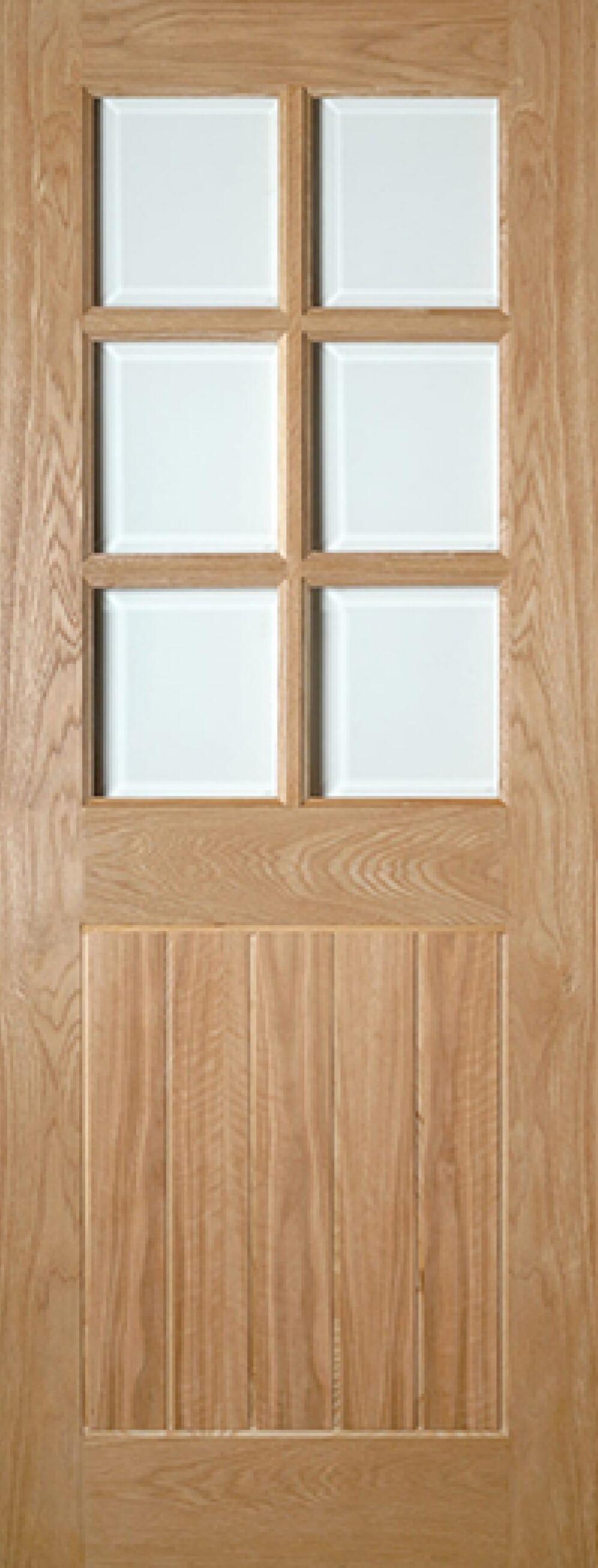 Ely Glazed Oak Image