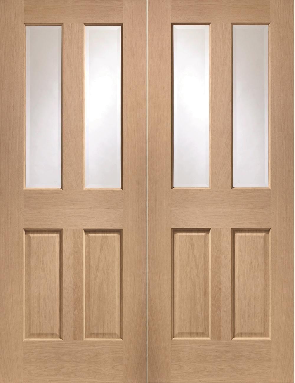 Malton Oak Pair - Clear Glazed  Image