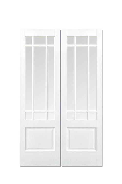 Downham White Glazed Pair Image