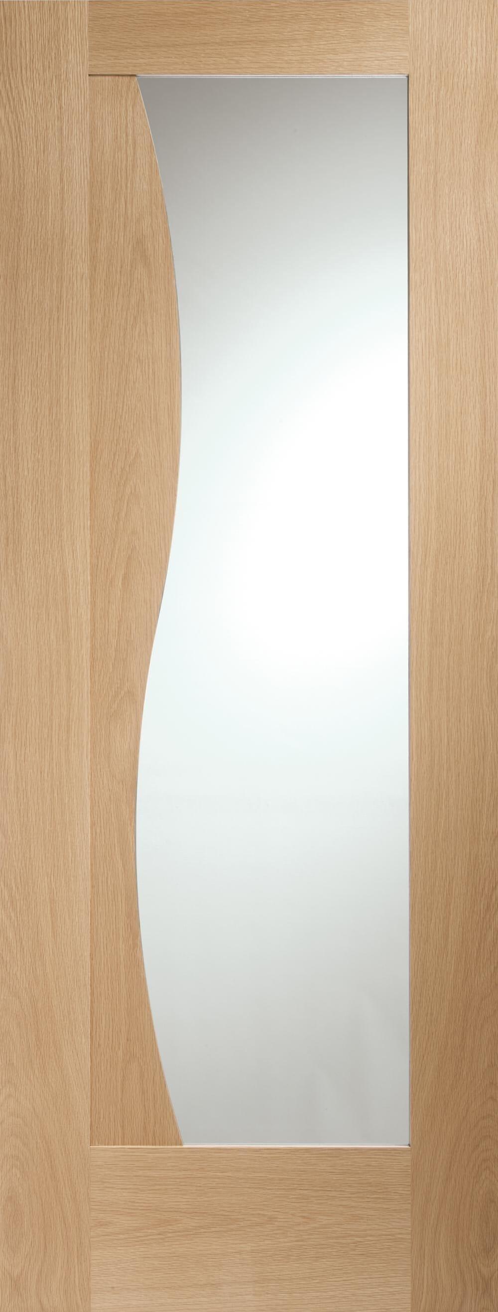 Emilia Oak Clear Glazed - Xl Joinery  Image