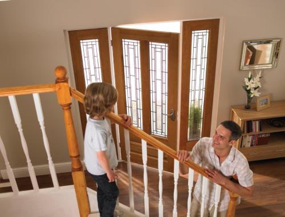 Oak Door Frames - Exterior Image