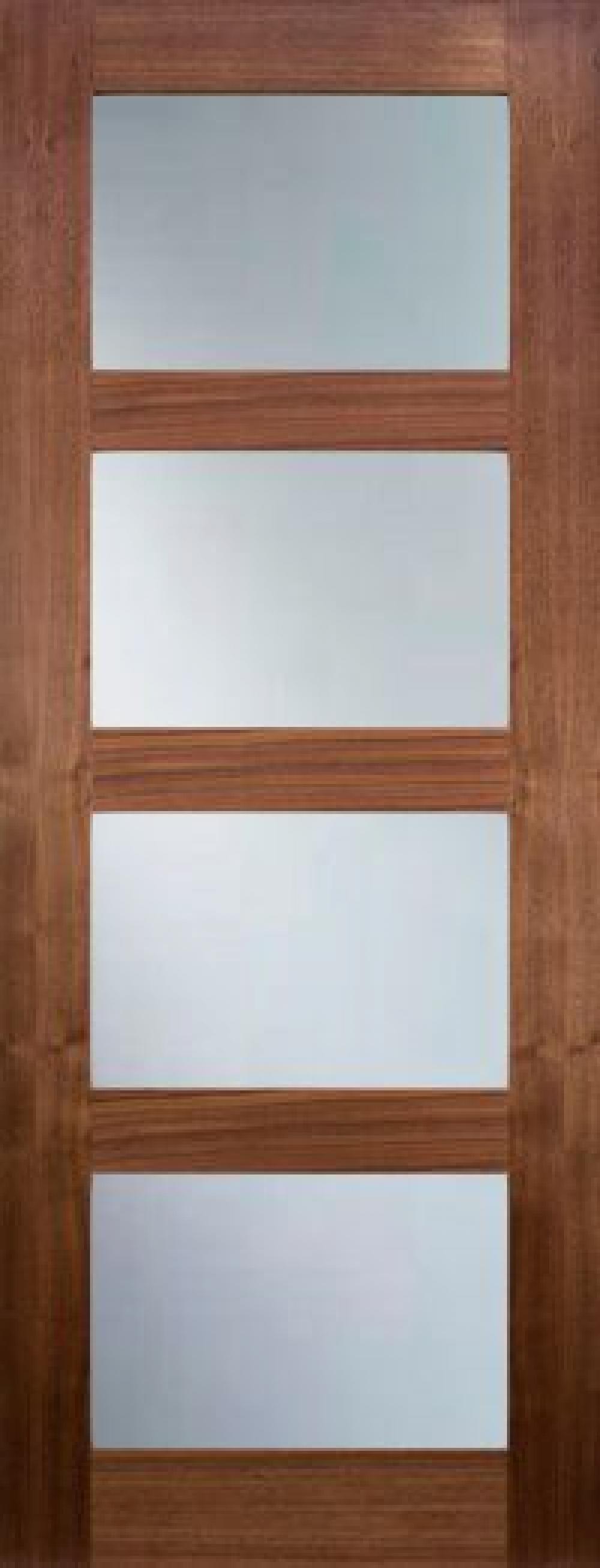 Coventry Walnut Glazed - Clear Prefinished Image