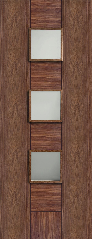 Messina Walnut - Prefinished Clear Glass Image