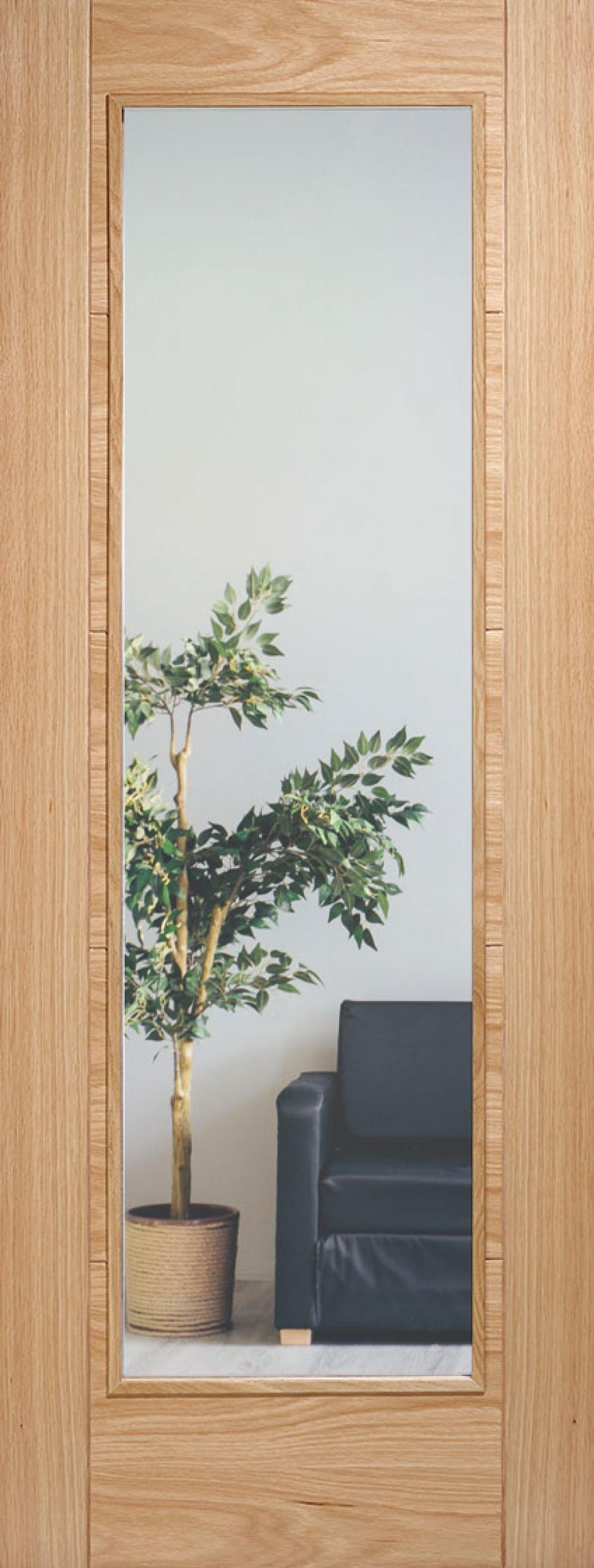 Iseo Oak Pattern 10 Clear Glazed - Prefinished Image