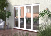 Classic White French Doors - Climadoor Image