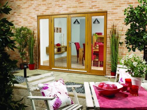 Nuvu Oak French Doors - Pre Finished Image