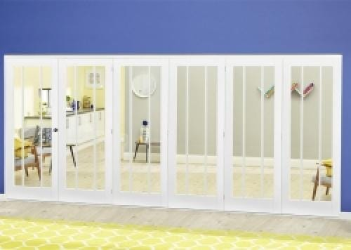 Lincoln White Roomfold Deluxe ( 5 + 1 x 686mm doors)