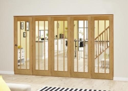 Lincoln Oak Roomfold Deluxe ( 5 x 610mm doors)