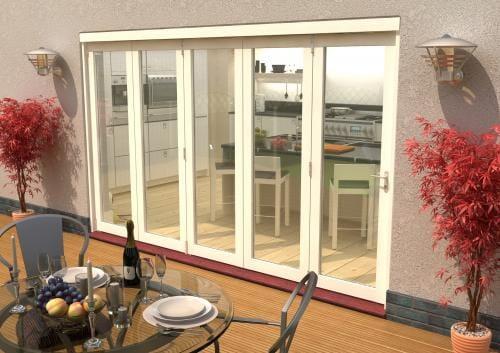 Climadoor Classic White Folding door 3600mm