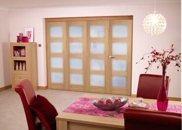 Oak Pre finished 4L Roomfold door (4 x 2