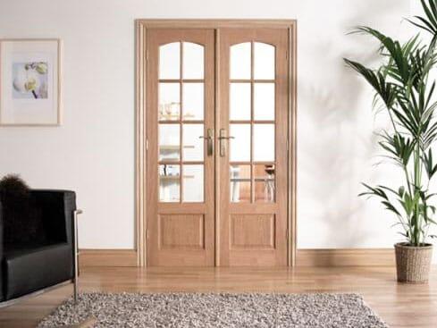 W4 OAK Interior French Doors