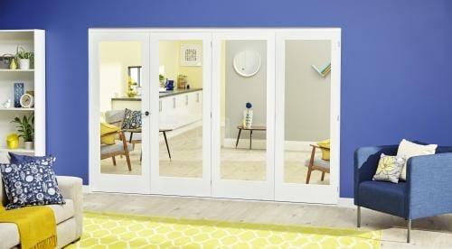 White P10 Roomfold Deluxe ( 4 x 686mm doors )
