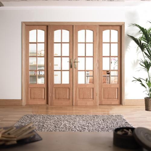 W8 Hardwood Interior French Door