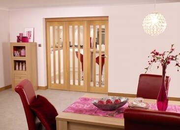 Aston Oak - 3 Door Roomfold (3 X 2