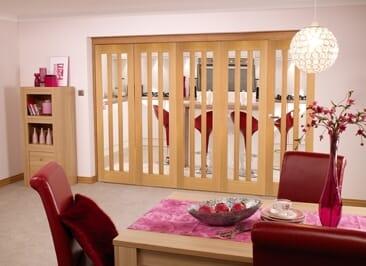 Aston Oak - 5 Door Roomfold (5 X 2