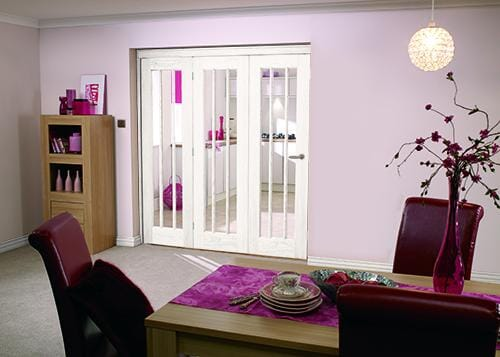 "Lincoln 3 Door Roomfold ( 3 X 27"" Doors) Image"