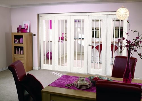 "Lincoln 5 Door Roomfold ( 5 X 27"" Doors) Image"