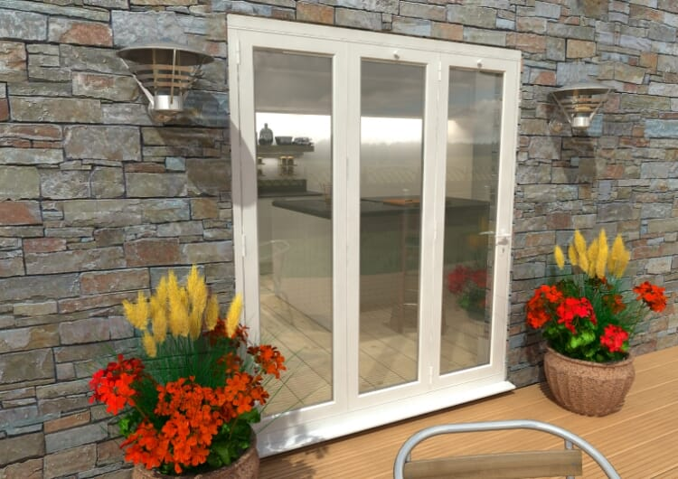 Part Q 1800mm White Aluminium Bifold Doors - Climadoor Image