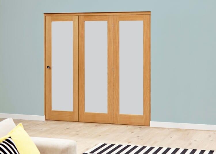 Porto 3 Door Roomfold Deluxe (3 X 686mm Doors) Image