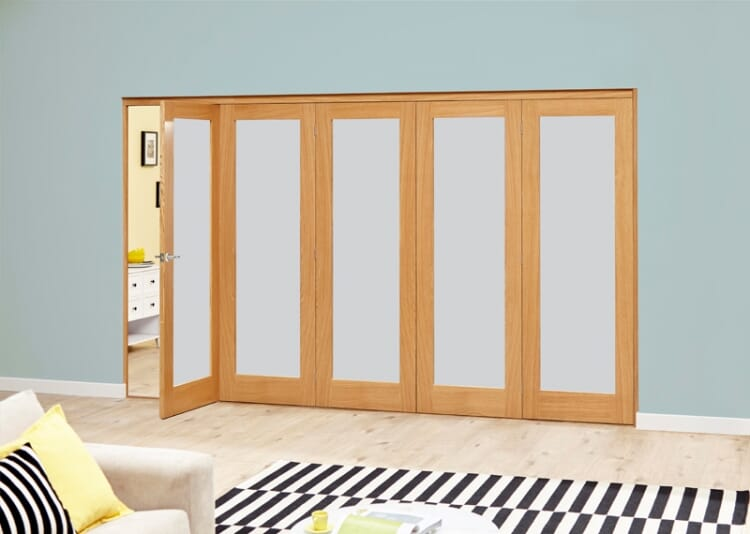 Porto 5 Door Roomfold Deluxe (5 X 610mm Doors) Image