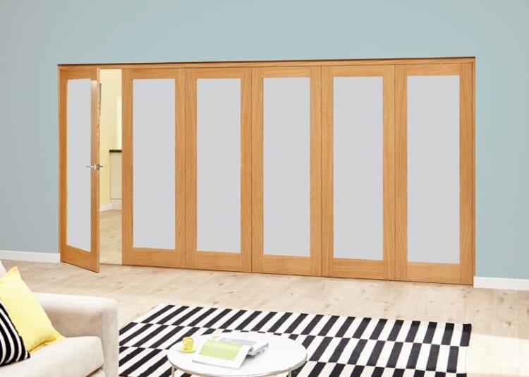 Porto 6 Door Roomfold Deluxe (5 + 1 X 686mm Doors) Image