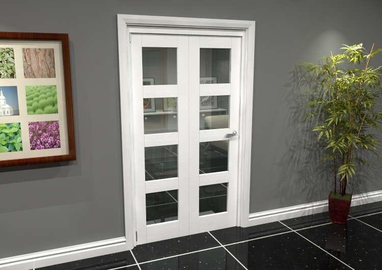 White 4l Roomfold Grande (2 + 0 X 533mm Doors) Image