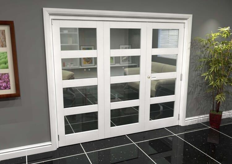 White 4l Roomfold Grande (2 + 1 X 762mm Doors) Image