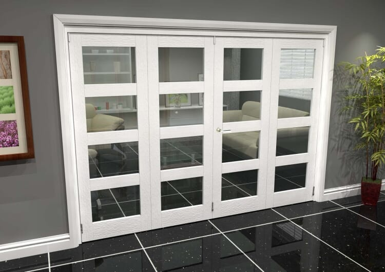 White 4l Roomfold Grande (2 + 2 X 686mm Doors) Image