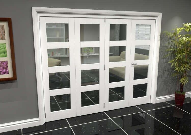 White 4l Roomfold Grande (3 + 1 X 610mm Doors) Image
