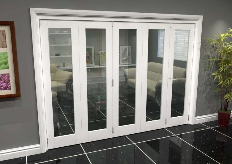 White P10 Roomfold Grande (4 + 1 X 533mm Doors) Image