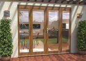 Supreme Solid Oak French Doors - Climadoor Image