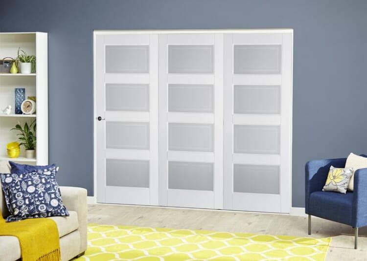 4 Lite Glazed 3 Door (3 X 1