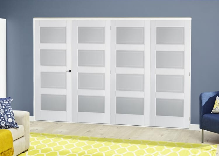 4 Lite Glazed 4 Door (4 X 1