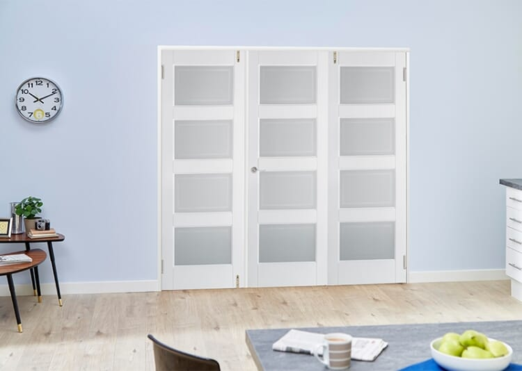 4l Glazed 3 Door Frenchfold (3 X 2