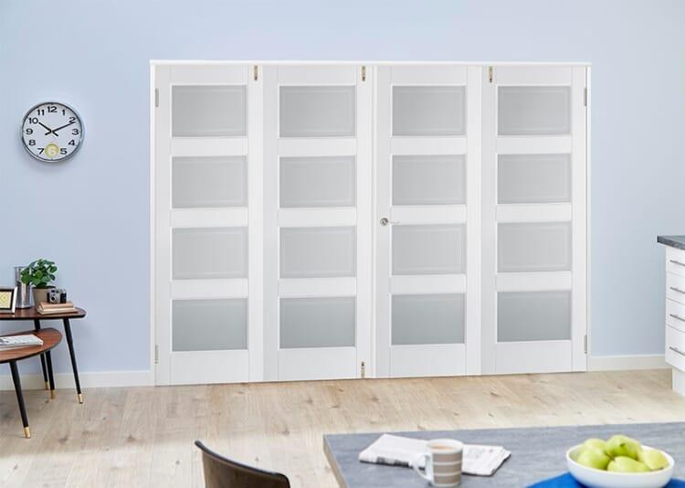 4l Glazed 4 Door Frenchfold (4 X 2