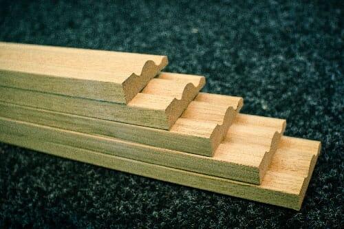 Oak Architrave Pack - Ogee Pattern Image