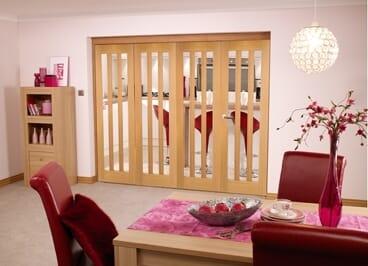 Aston Oak - 4 Door Roomfold (4 X 2