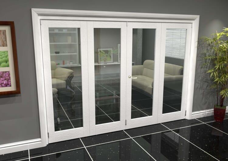 White P10 Roomfold Grande (2 + 2 X 686mm Doors) Image