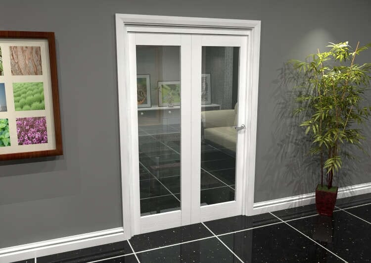 White P10 Roomfold Grande (2 + 0 X 610mm Doors) Image