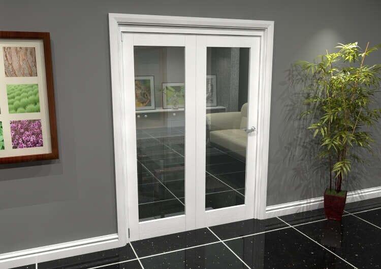White P10 Roomfold Grande (2 + 0 X 686mm Doors) Image