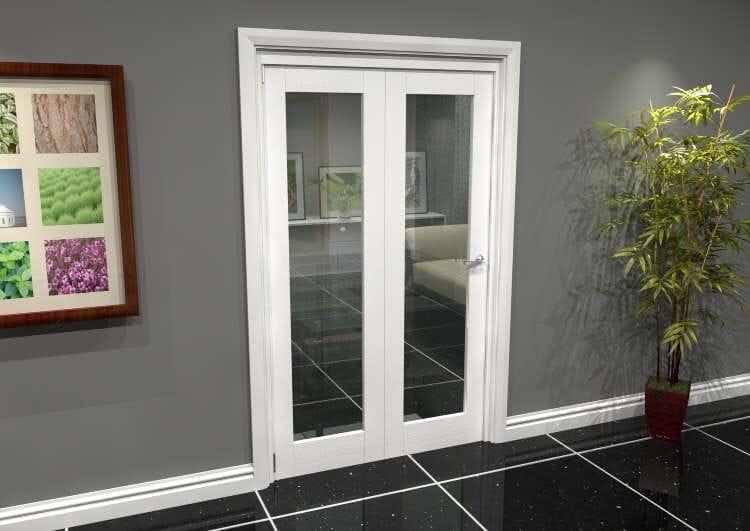 White P10 Roomfold Grande (2 + 0 X 573mm Doors) Image