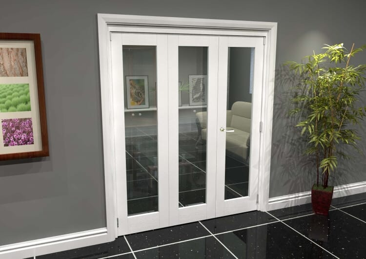 White P10 Roomfold Grande (2 + 1 X 610mm Doors) Image